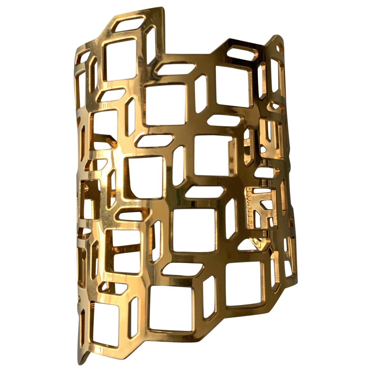 Pierre Hardy - Bracelet   pour femme en metal - dore