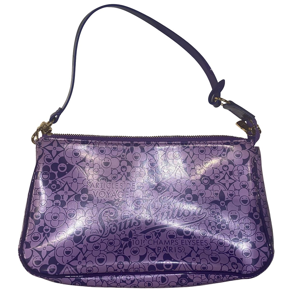 Louis Vuitton - Pochette Pochette Accessoire pour femme en cuir - violet