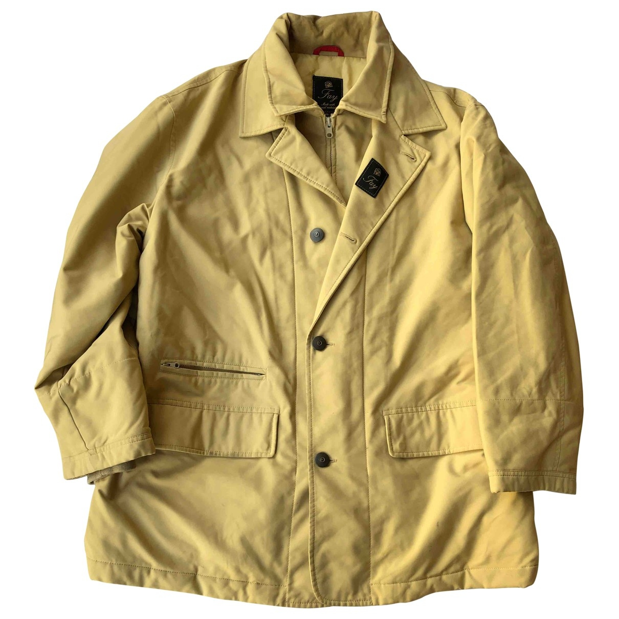 Fay \N Beige Cotton coat  for Men XL International