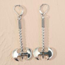Ax Drop Earrings