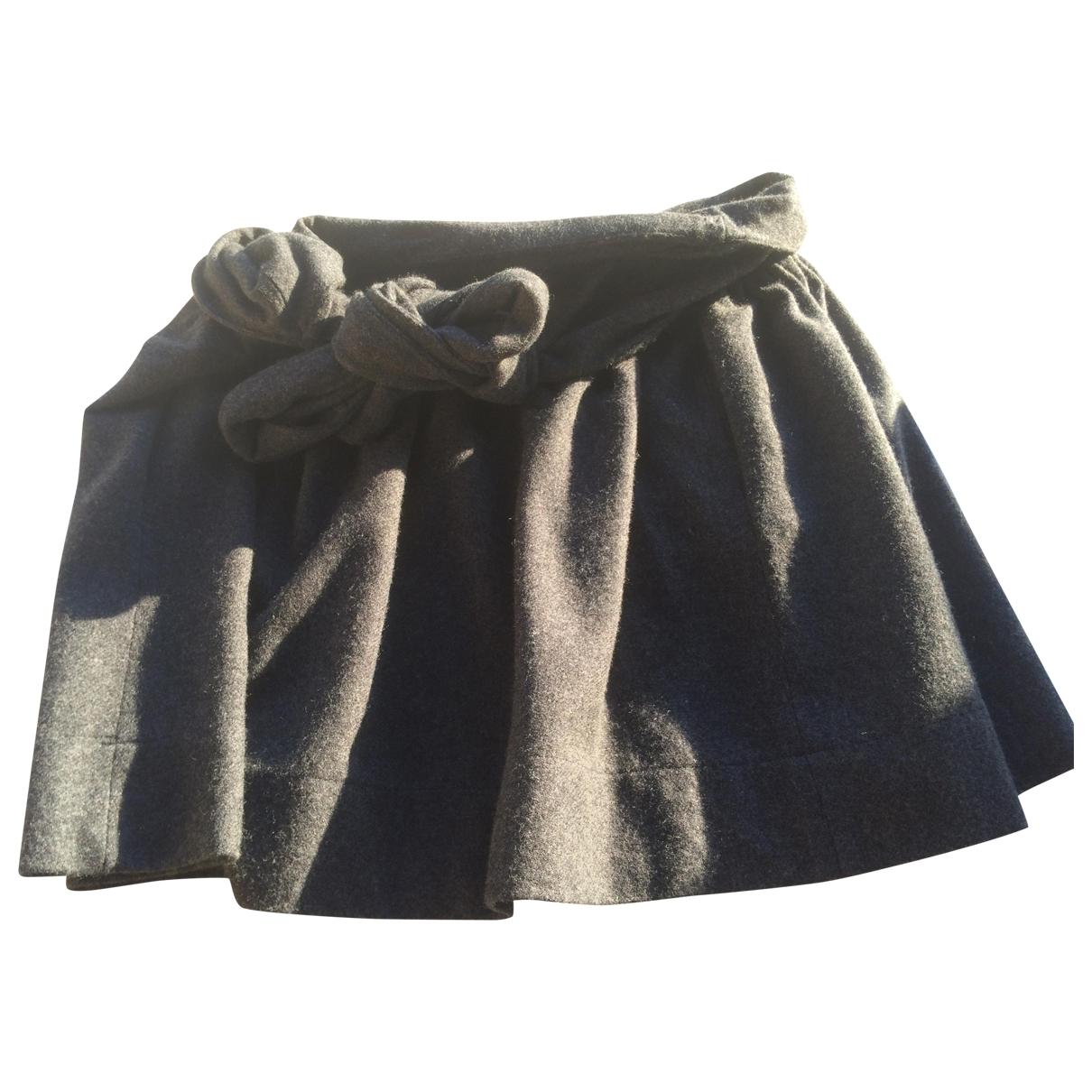 Gat Rimon \N Grey Wool skirt for Women 2