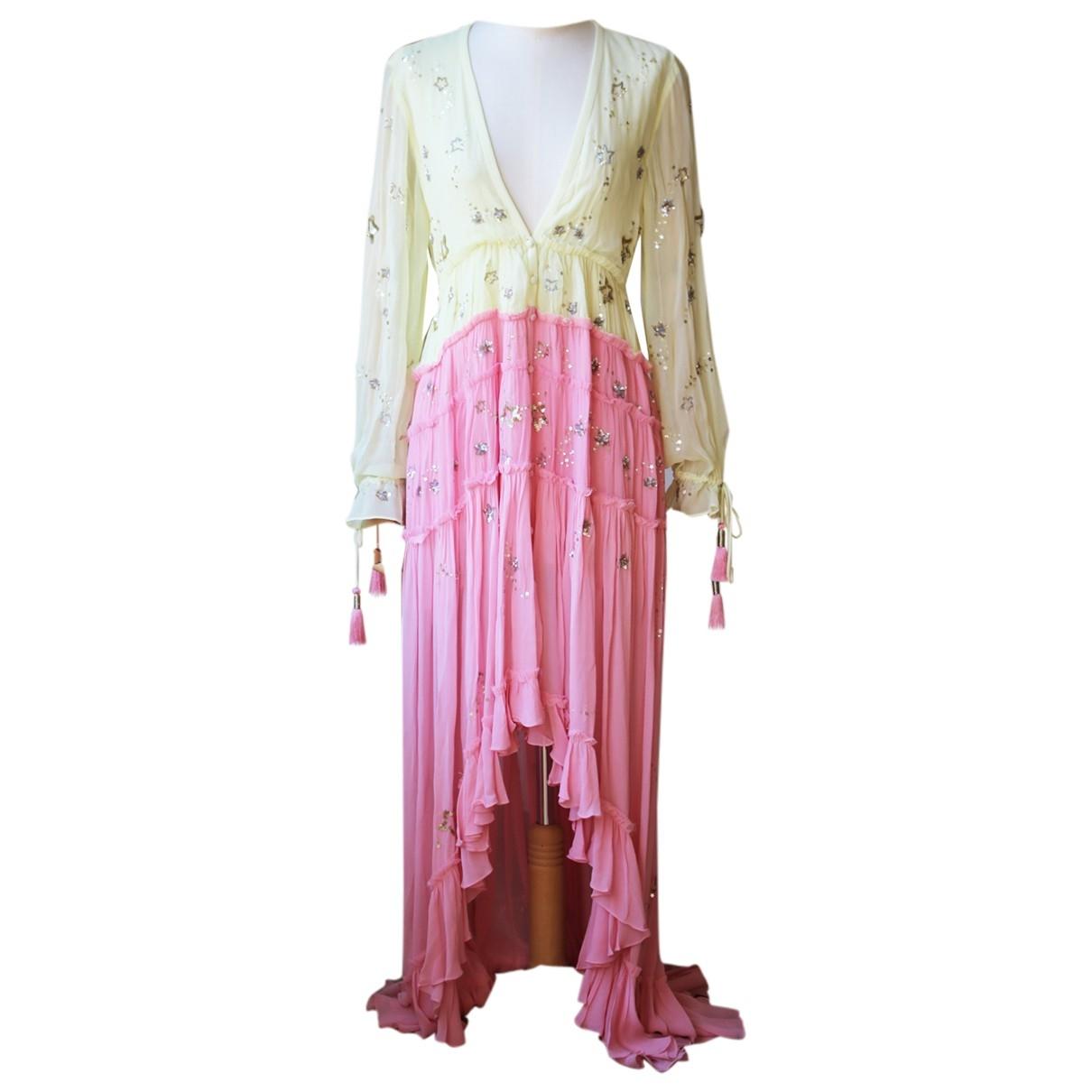 Autre Marque \N Kleid in  Bunt Viskose