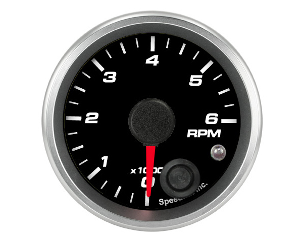 SpeedHut GR2-TACH-06 Tachometer Gauge 6K RPM Mini Shift-light