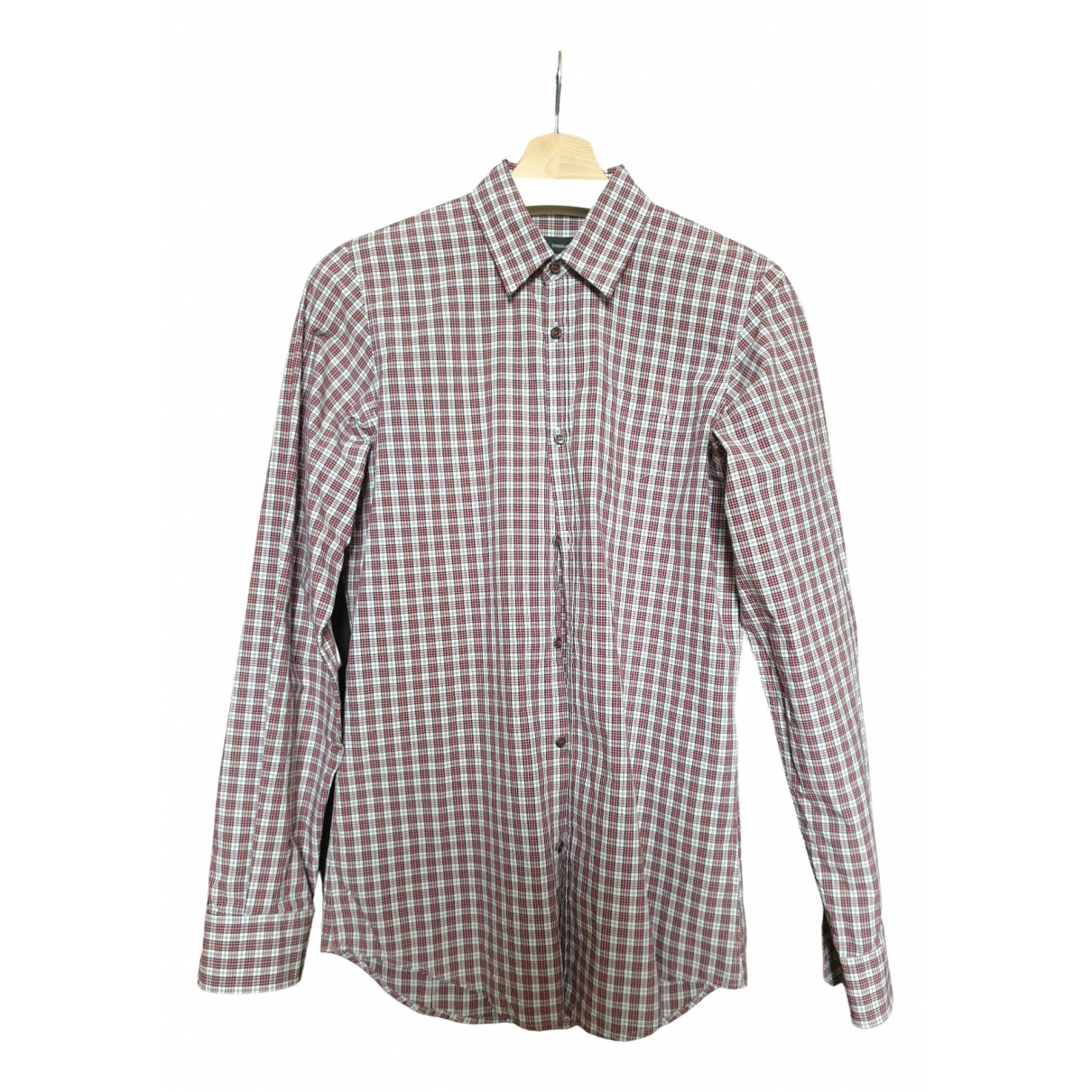 Dsquared2 - Chemises   pour homme en coton - bordeaux