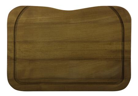 AB80WCB Rectangular Cutting Board with Wood  Grooved Channels  Cut-Off Corner and Sturdy Design in