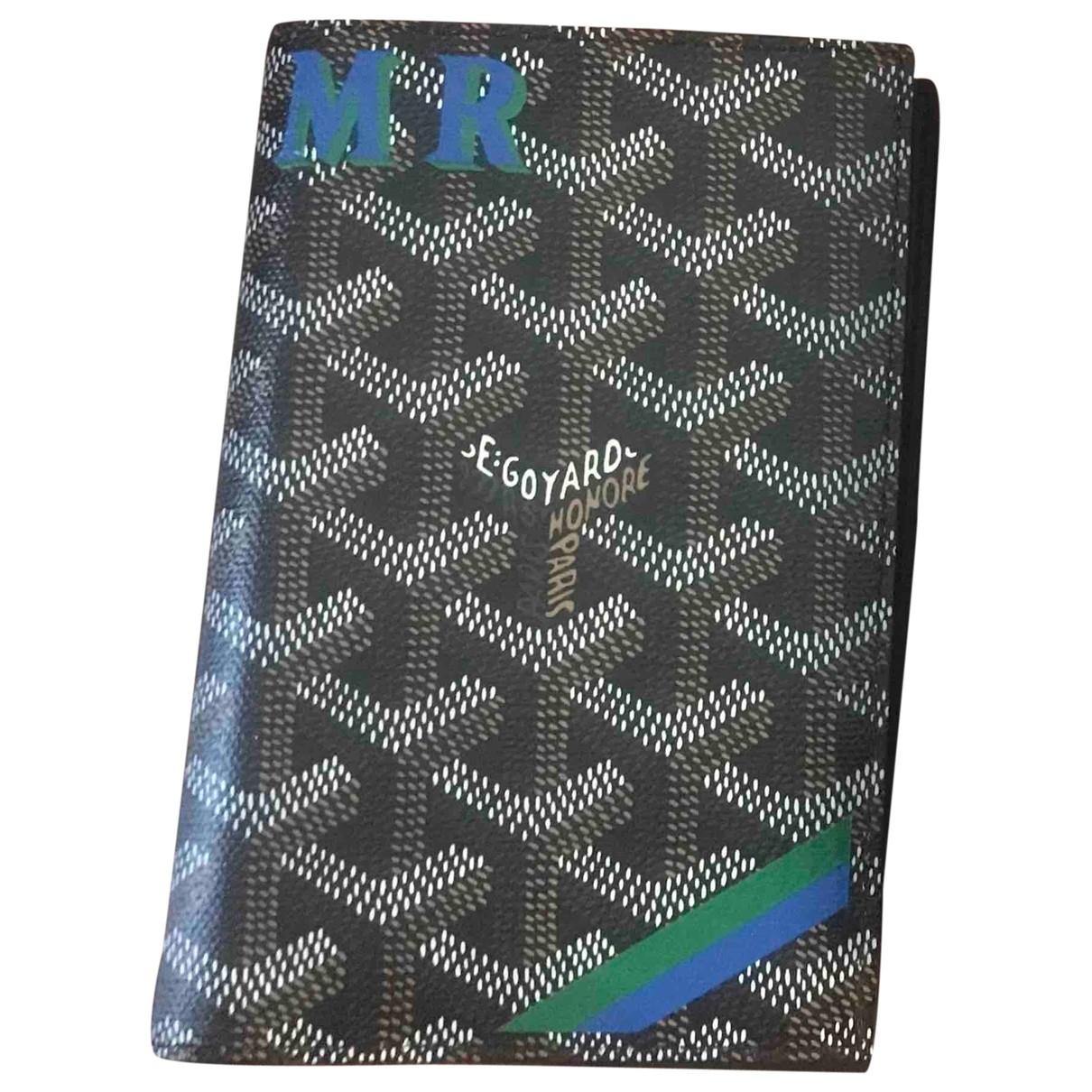 Goyard - Portefeuille   pour femme en cuir - multicolore