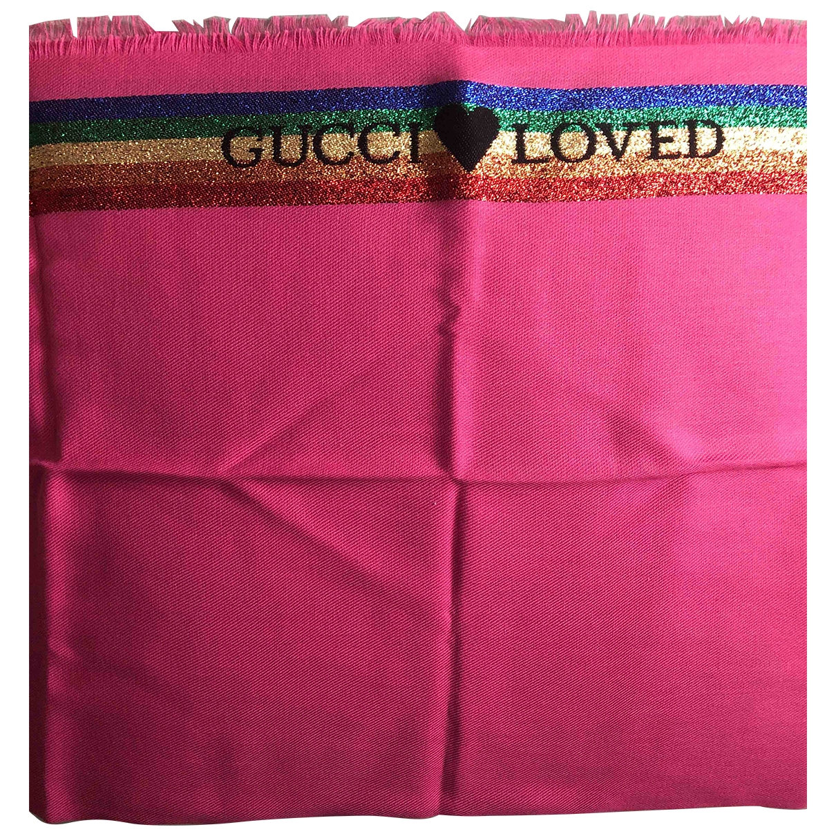 Gucci \N Pink Cotton scarf for Kids \N
