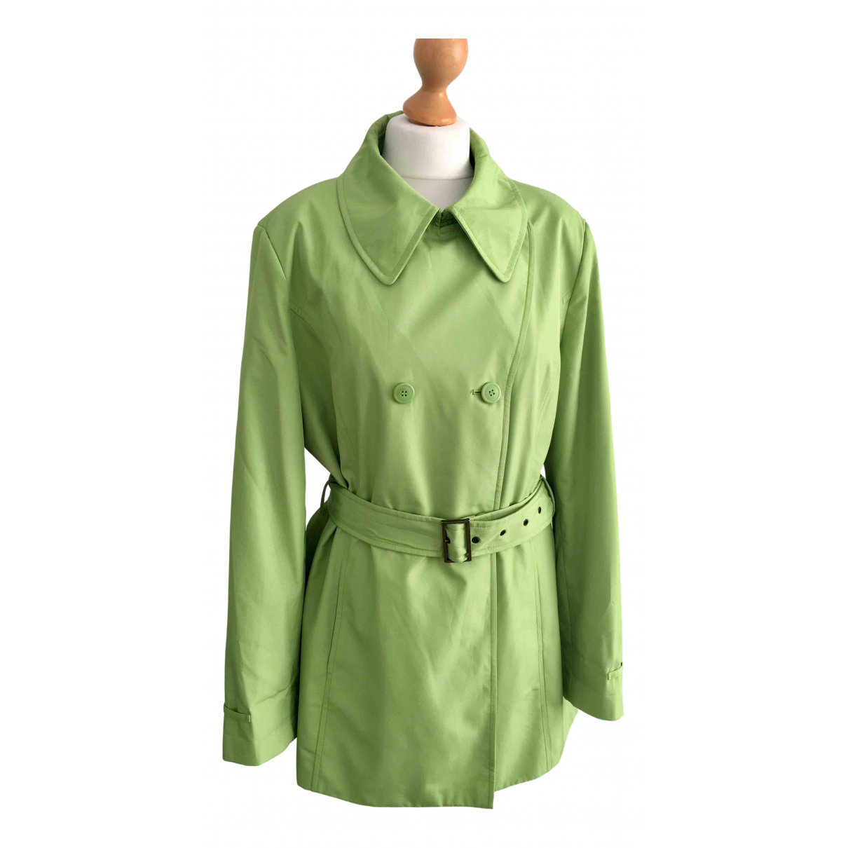 Calvin Klein \N Green coat for Women L International
