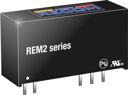 Recom REM2 2W Isolated DC-DC Converter Through Hole, Voltage in 4.5 → 5.5 V dc, Voltage out 5V dc Medical
