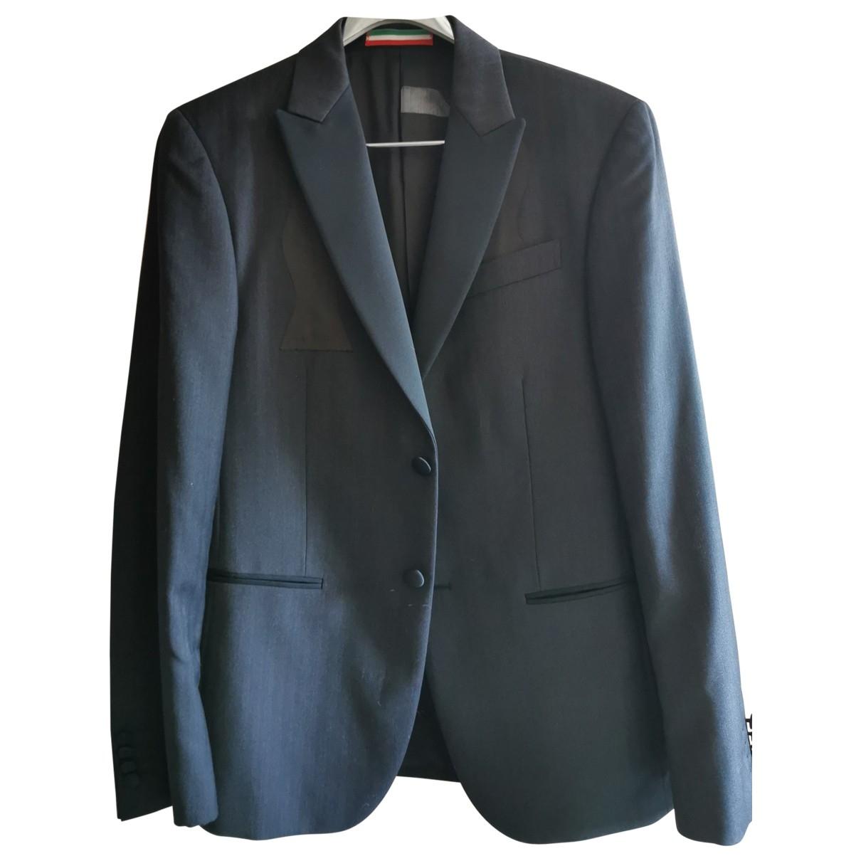 Moschino - Vestes.Blousons   pour homme en laine - noir