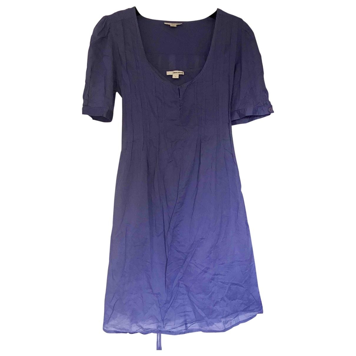 Dkny - Robe   pour femme en coton - violet