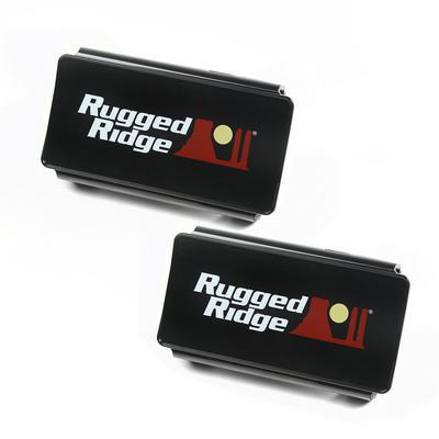 Rugged Ridge 6 Inch LED Light Covers - 15210.47