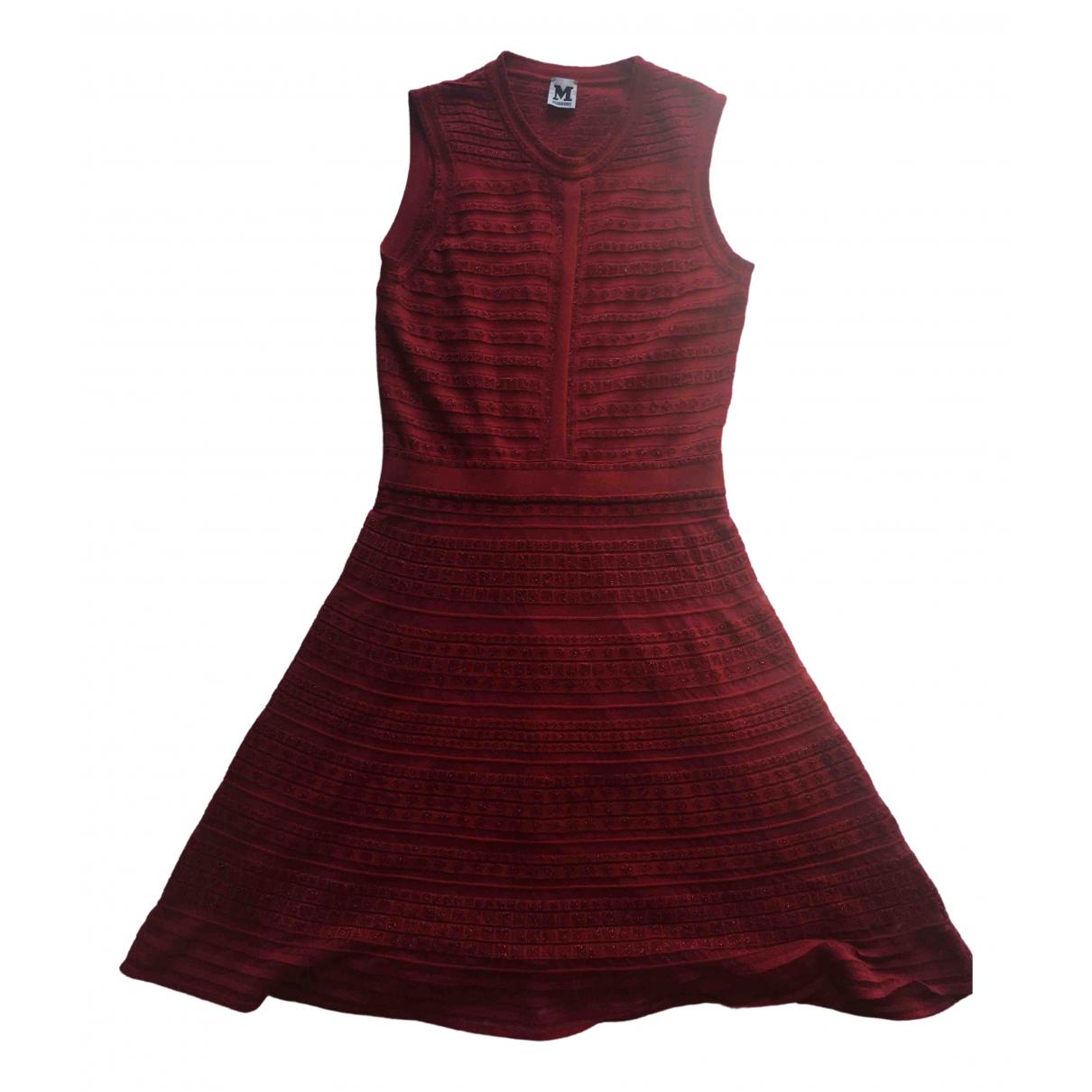 M Missoni \N Kleid in  Rot Polyester