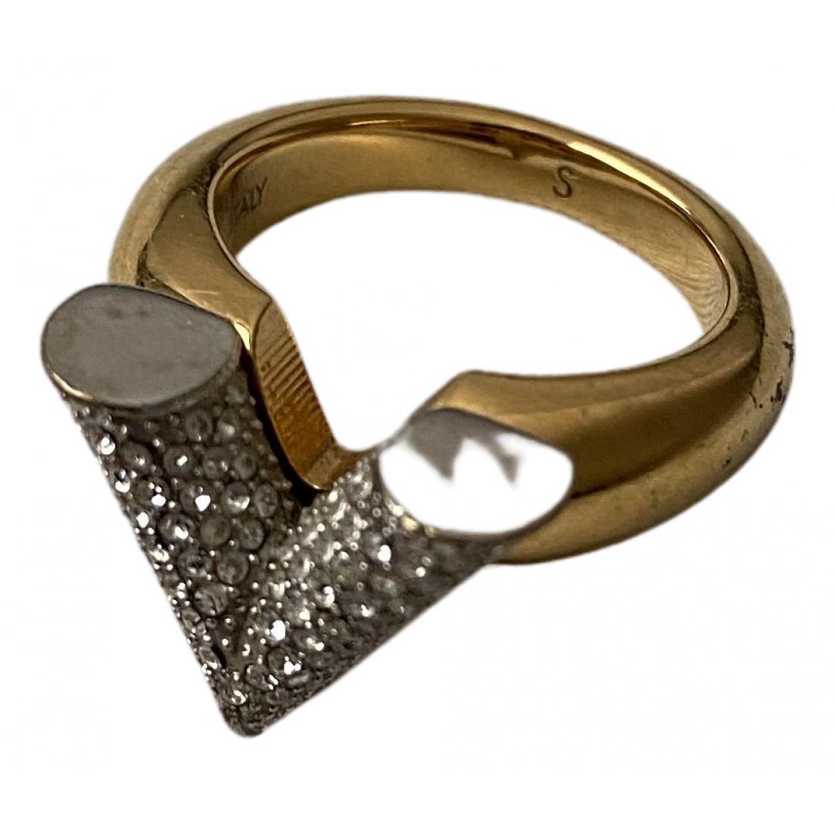Louis Vuitton - Bague Essential V pour femme en metal - dore