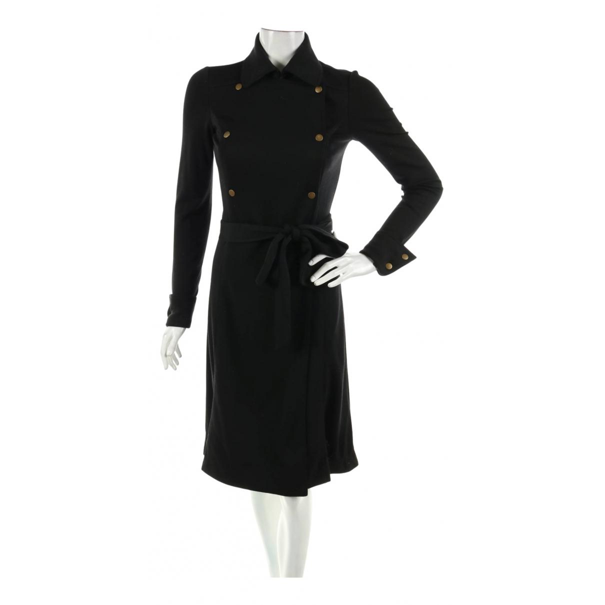 Diane Von Furstenberg N Black Wool dress for Women 6 US