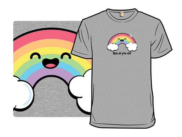Polite Rainbow T Shirt