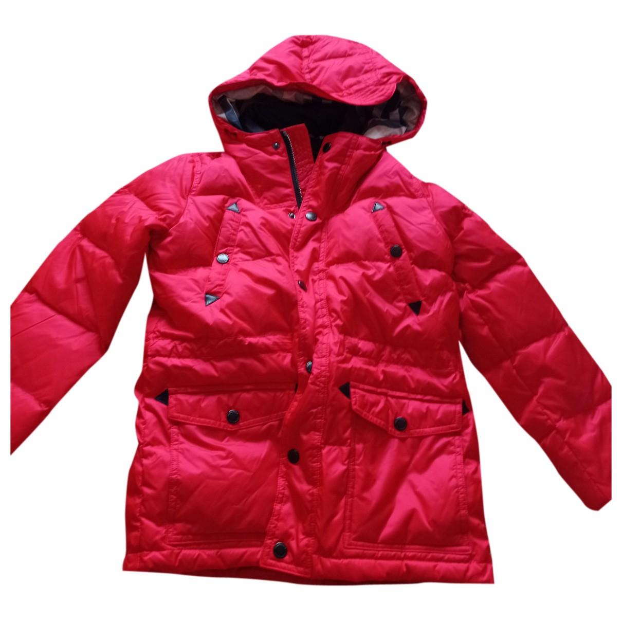 Burberry - Blousons.Manteaux   pour enfant - rouge