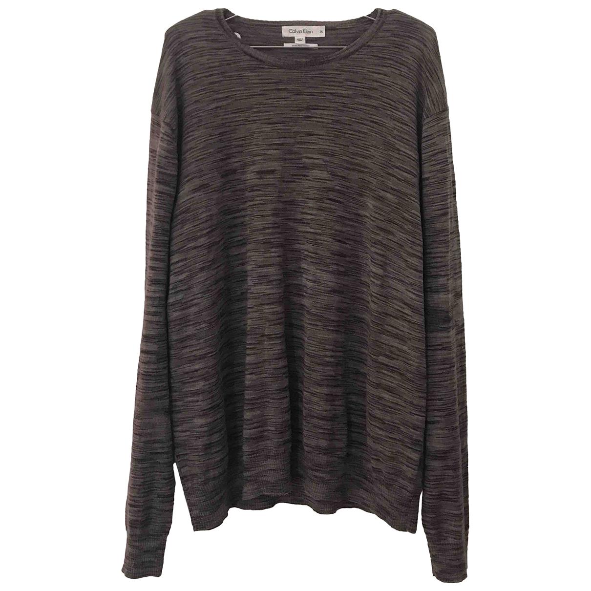 Calvin Klein \N Pullover.Westen.Sweatshirts  Grau