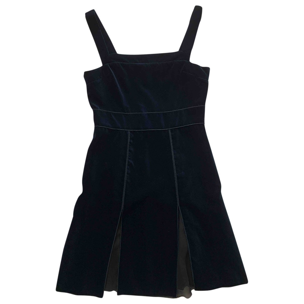 Hilfiger Collection \N Navy Velvet dress for Women 8 US