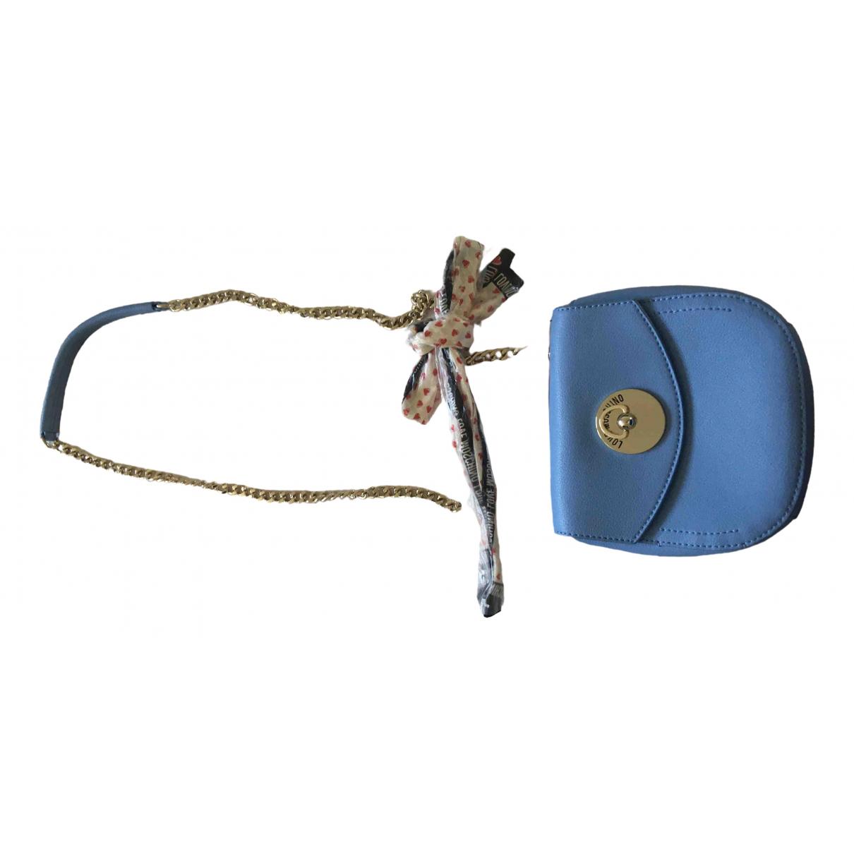 Bolsos clutch en Sintetico Azul Moschino Love