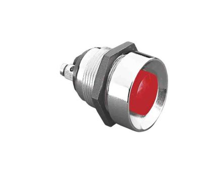 Bulgin Single Pole Single Throw (SPST) Momentary Push Button Switch, 19.2 (Dia.)mm, Panel Mount, 50V