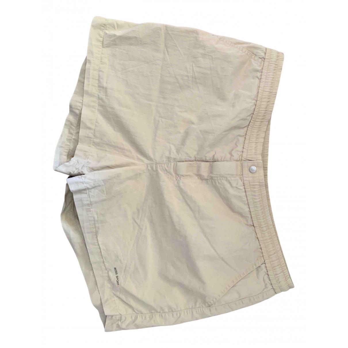 Hugo Boss \N Shorts in  Beige Synthetik