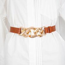 Cinturon con cadena de cocodrilo