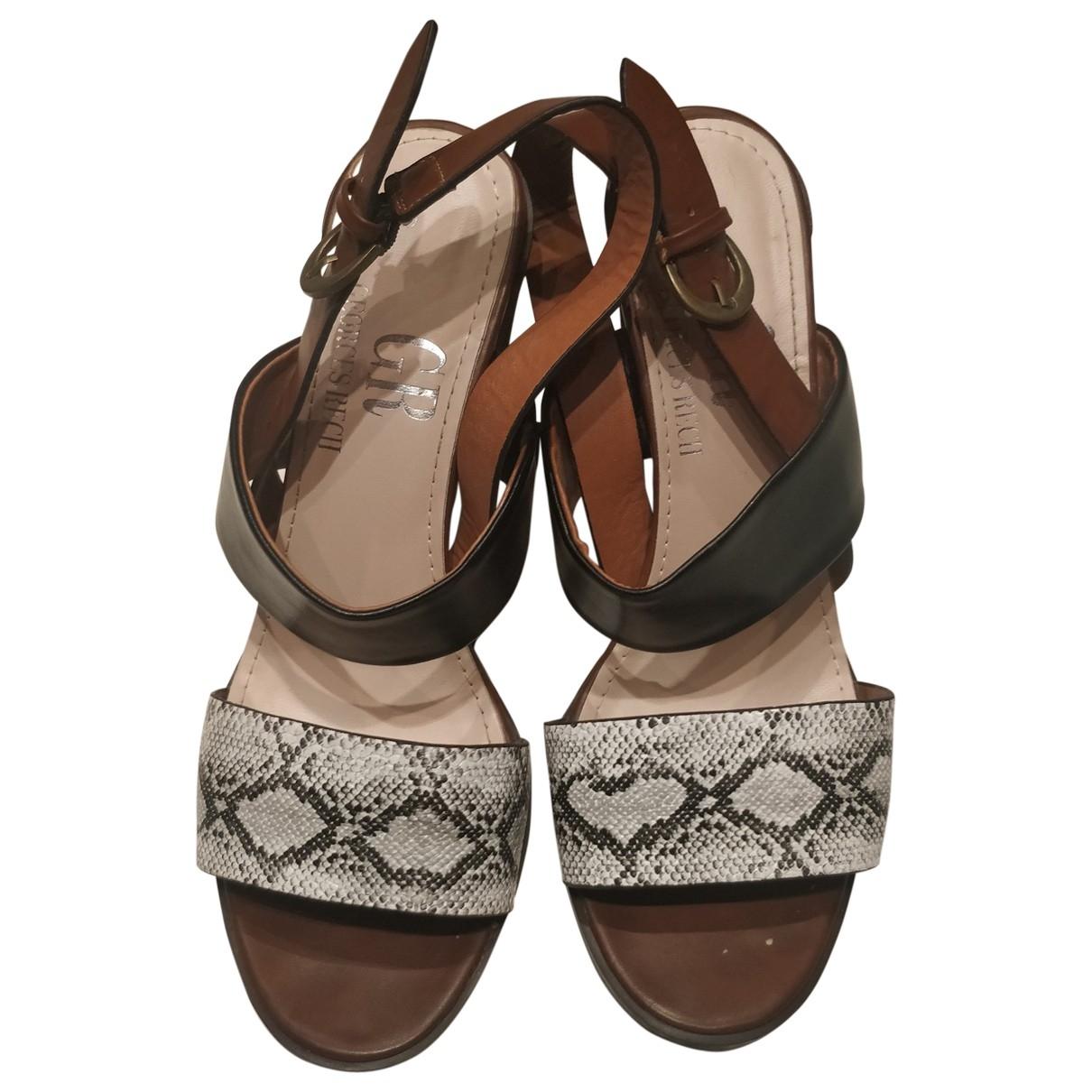 Georges Rech \N Black Sandals for Women 39 EU