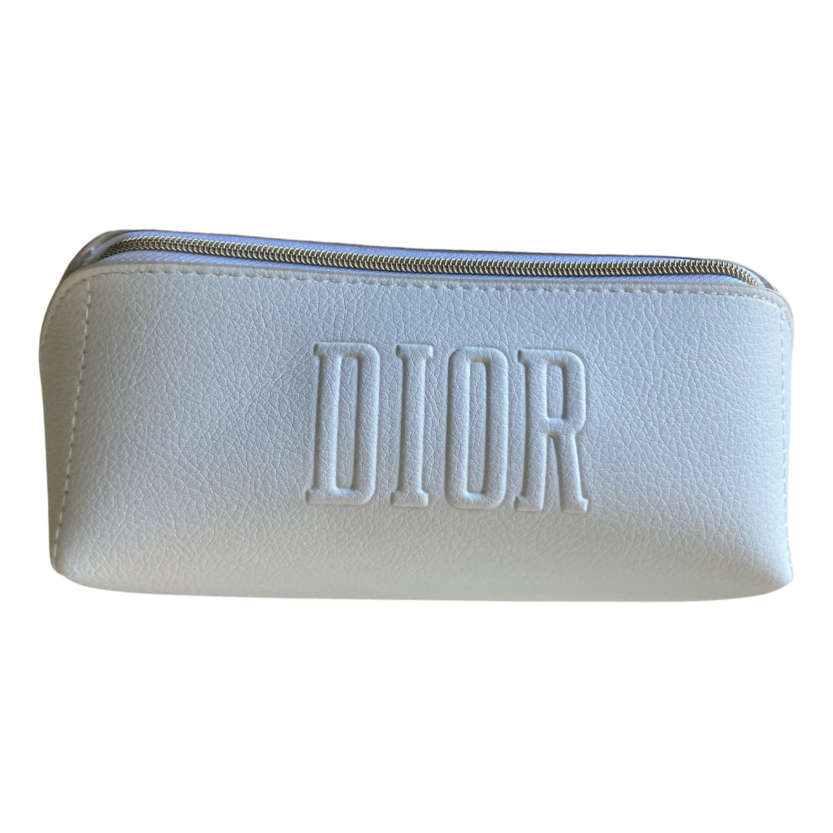 Dior N White Leather Travel bag for Women N