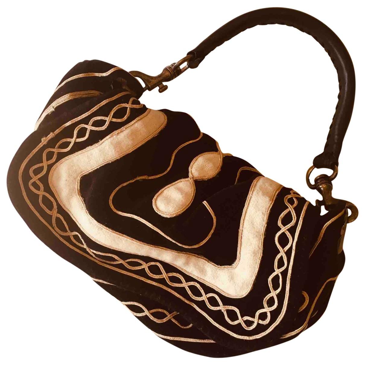 Maliparmi \N Black Cotton handbag for Women \N