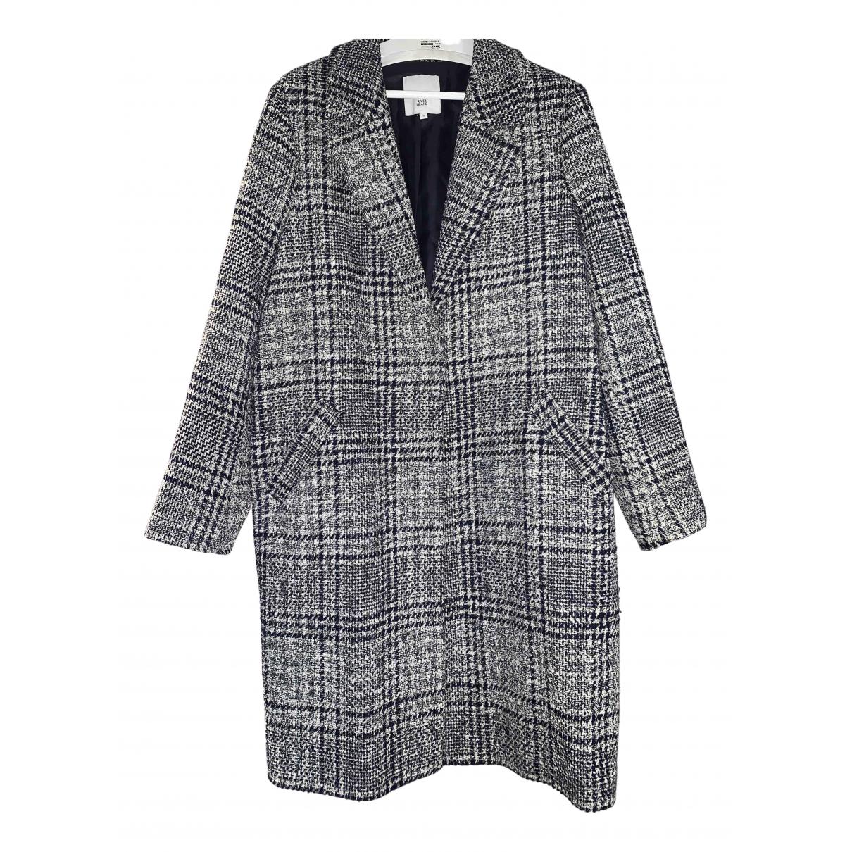 River Island N Tweed coat for Women 16 UK