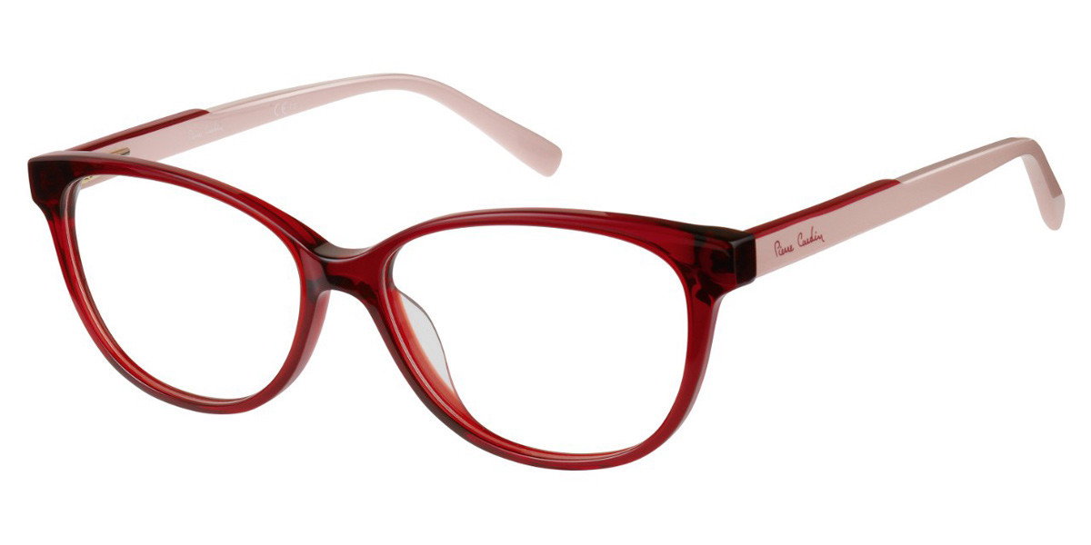 Pierre Cardin P.C. 8466 C9A Women's Glasses Red Size 54 - Free Lenses - HSA/FSA Insurance - Blue Light Block Available