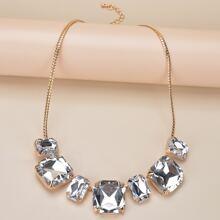 Gemstone Decor Necklace