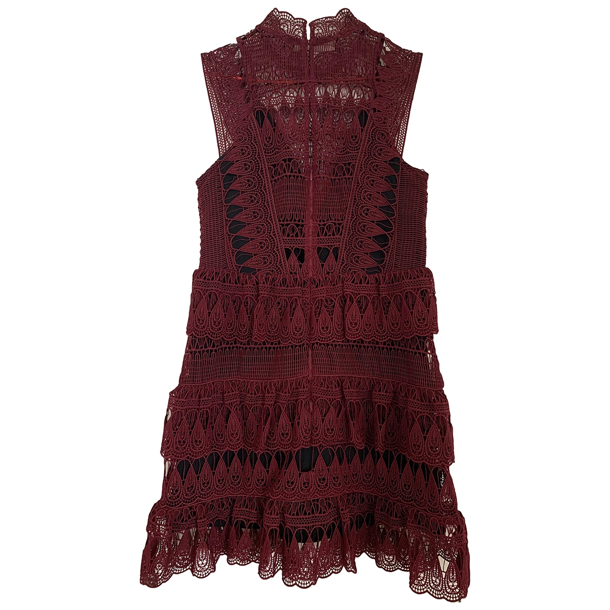 Self Portrait \N Burgundy dress for Women 12 UK