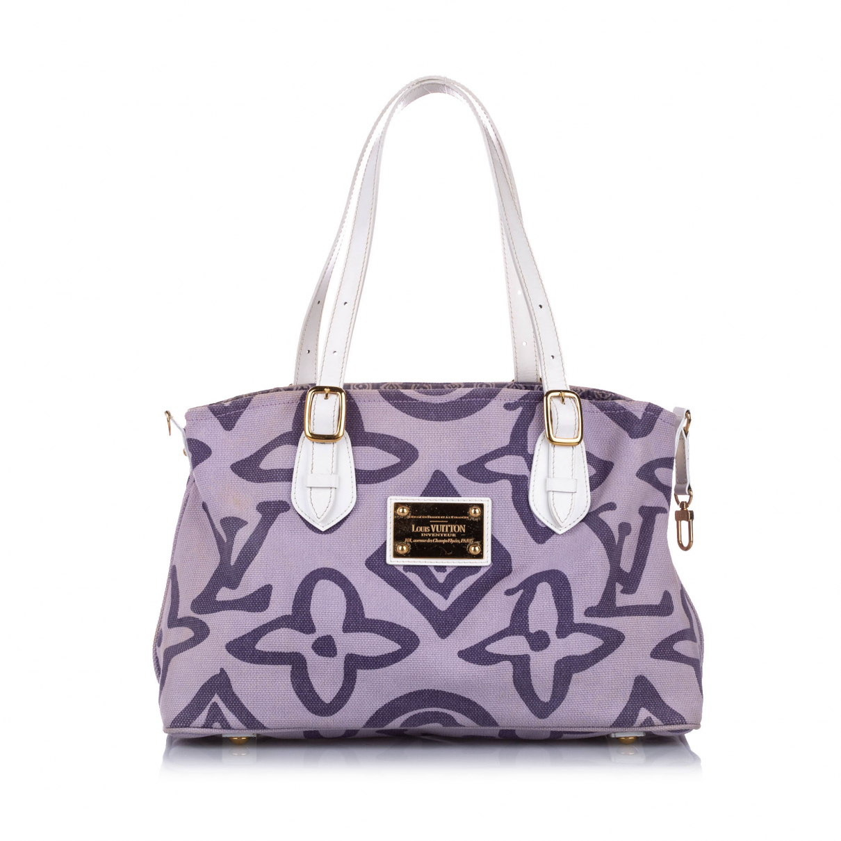 Louis Vuitton N Purple Cloth handbag for Women N