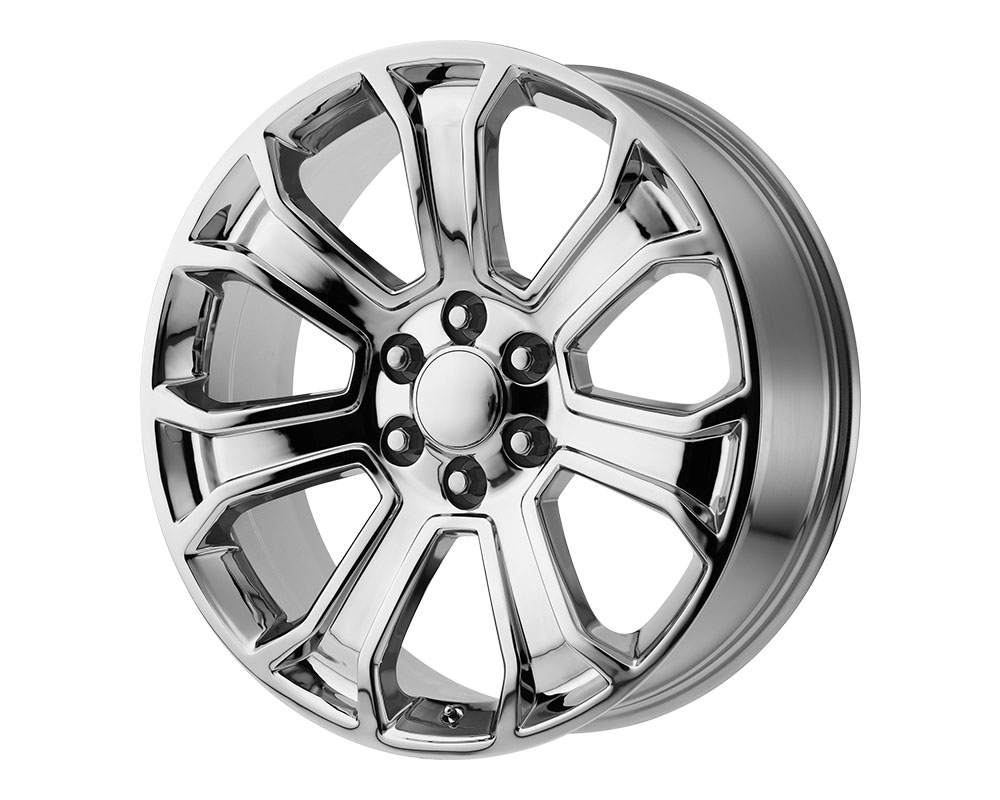 OE Creations 166C-2295824 PR166 Wheel 22x9 6x6x139.7 +24mm Chrome