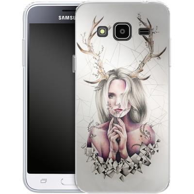 Samsung Galaxy J3 (2016) Silikon Handyhuelle - The Antlers von Kate Powell