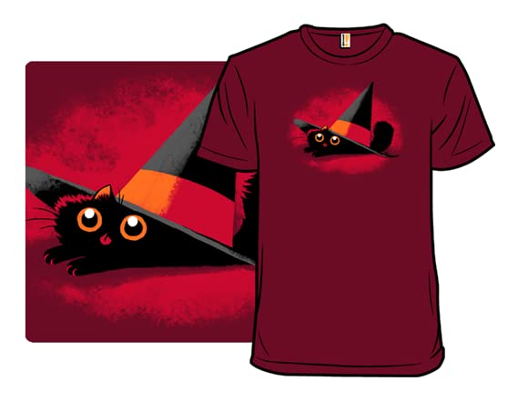 Cat In A Pointy Hat T Shirt