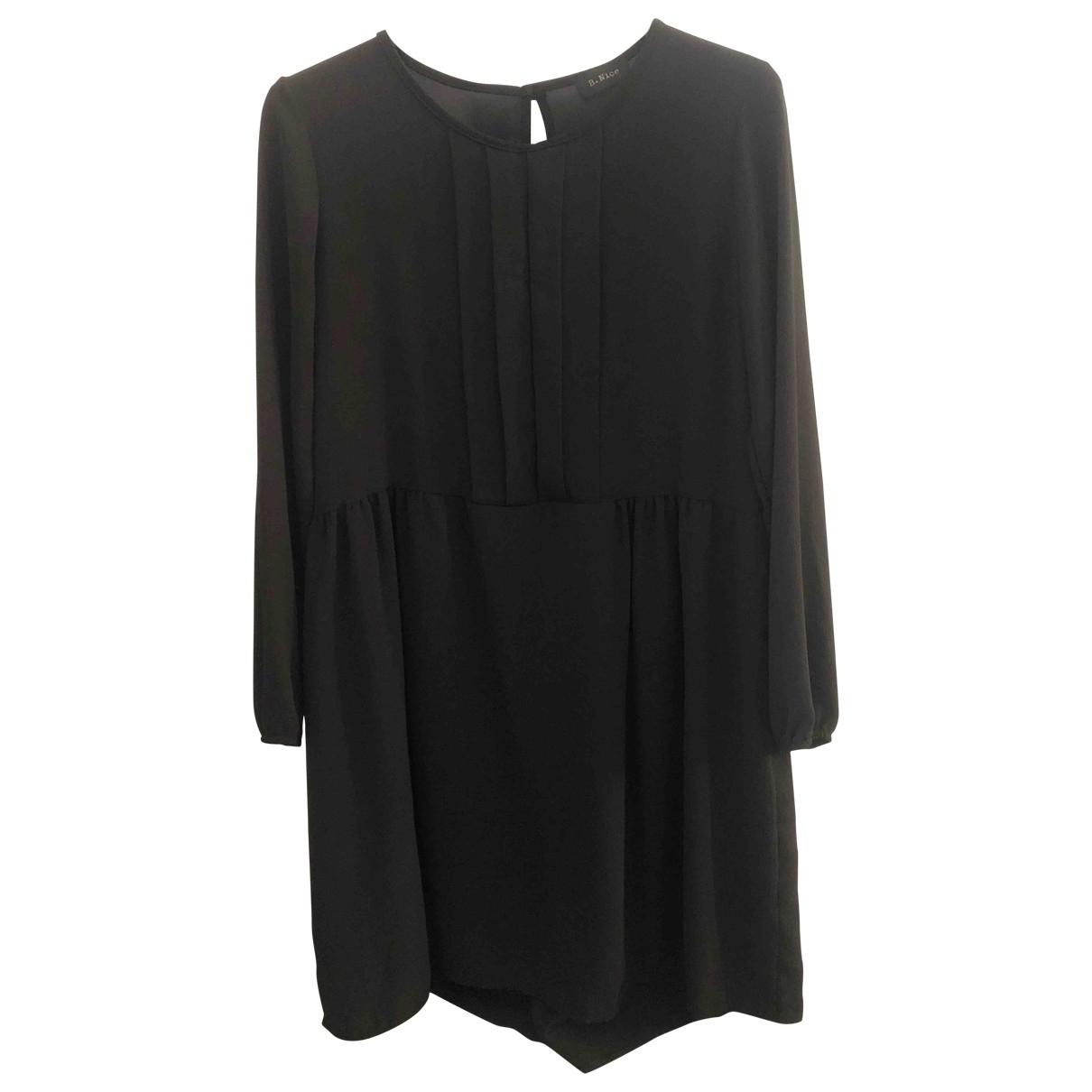 Non Signe / Unsigned Oversize Kleid in  Schwarz Viskose