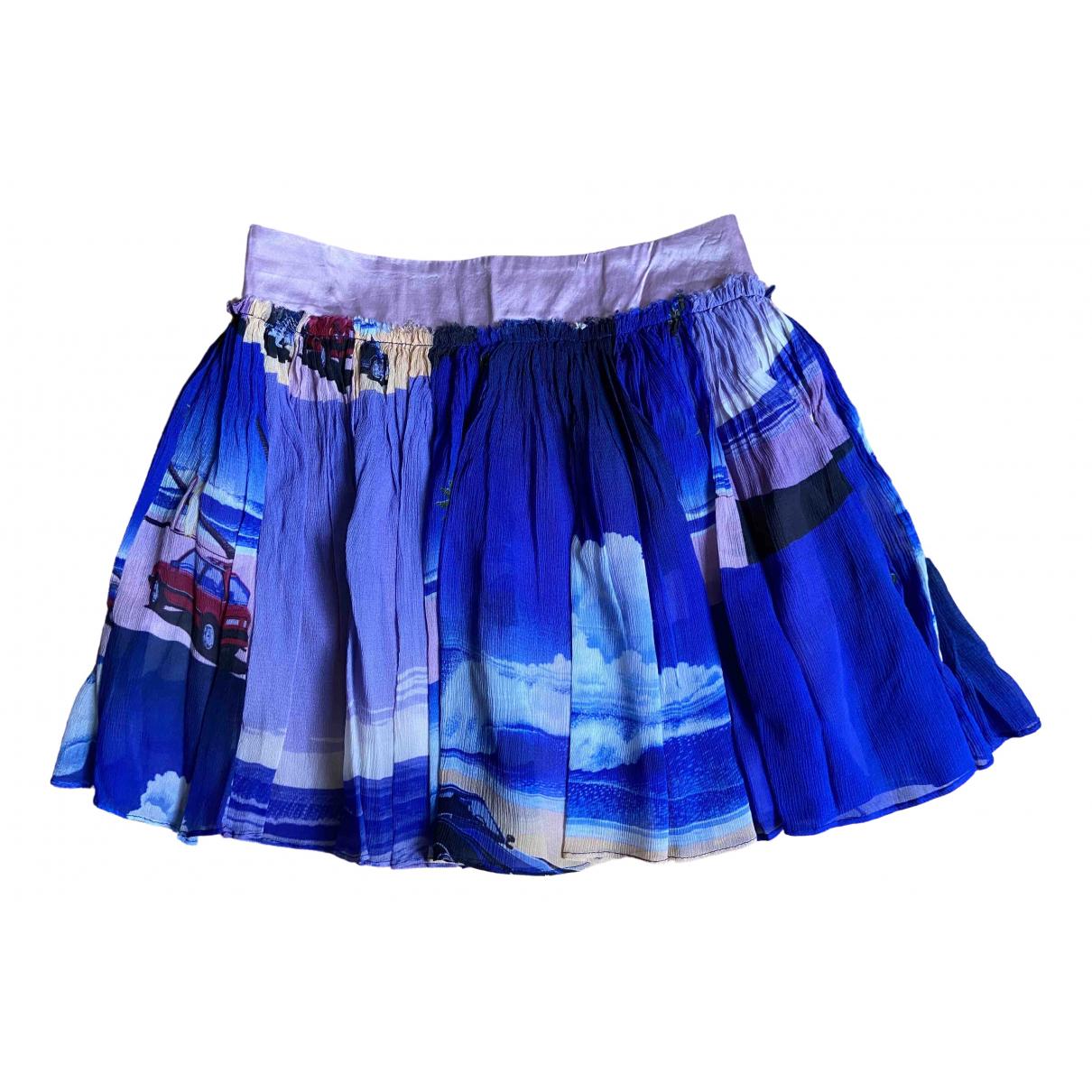 Mini falda de Seda Manish Arora