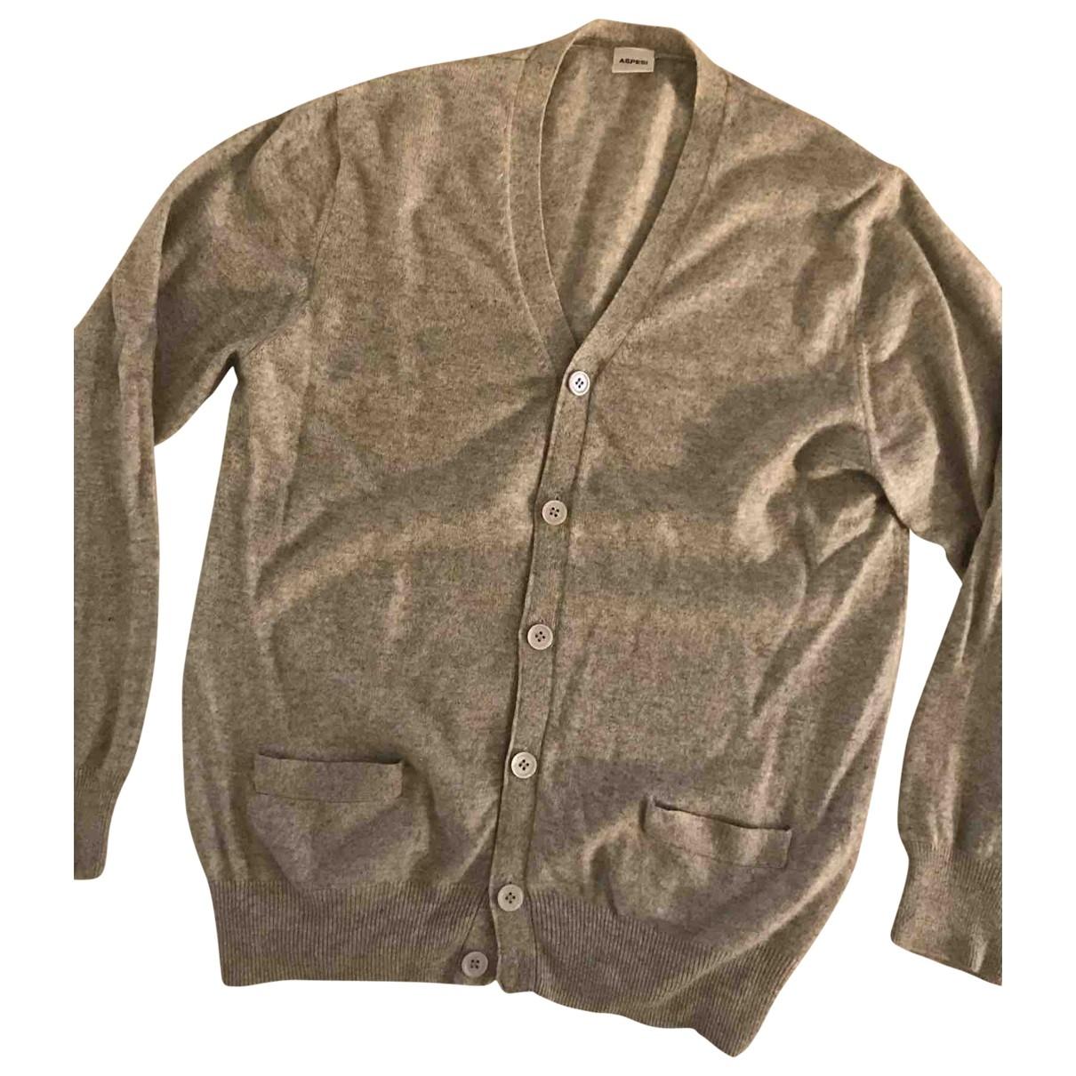 Aspesi \N Pullover.Westen.Sweatshirts  in  Grau Kaschmir