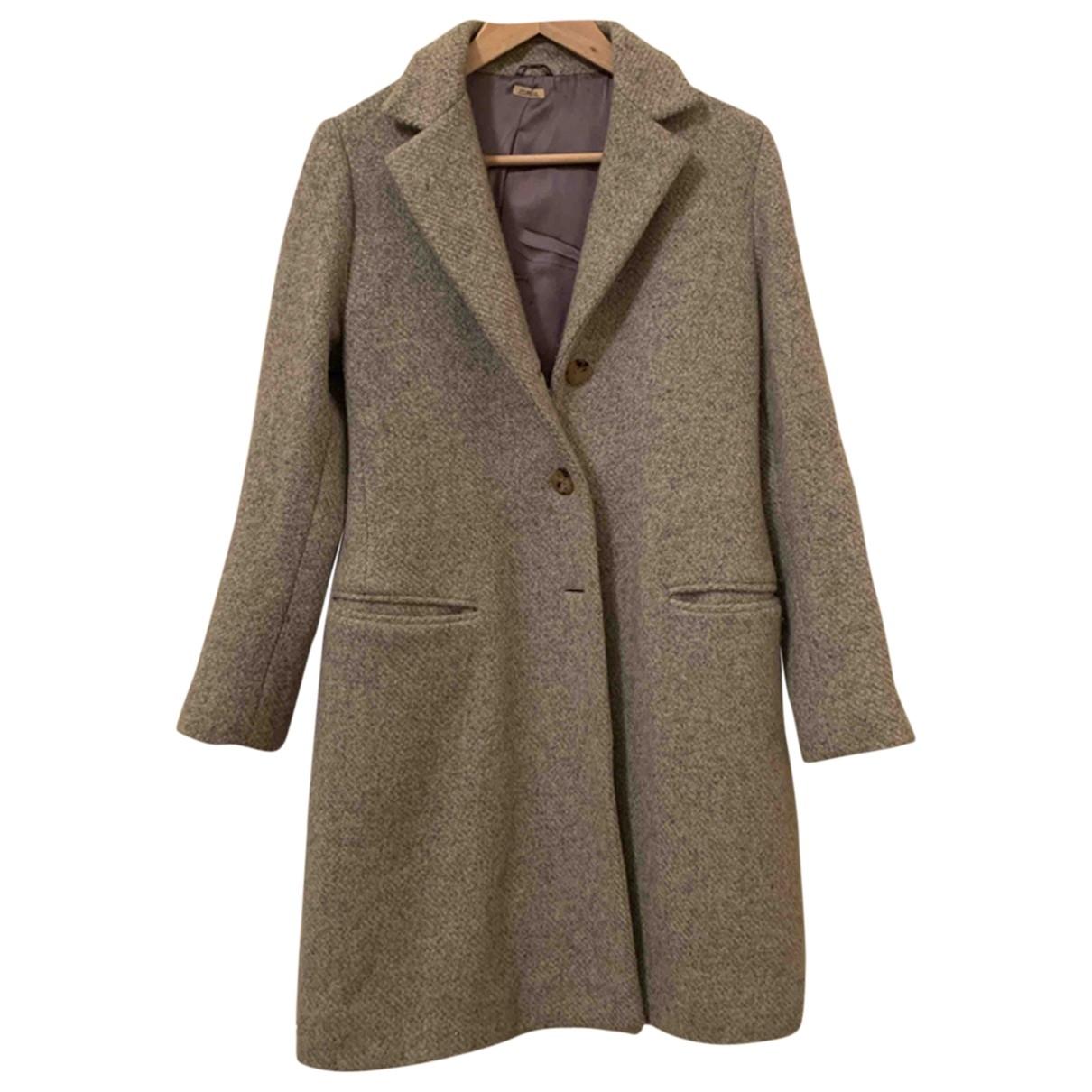 Malo \N Grey Cashmere coat for Women 44 IT