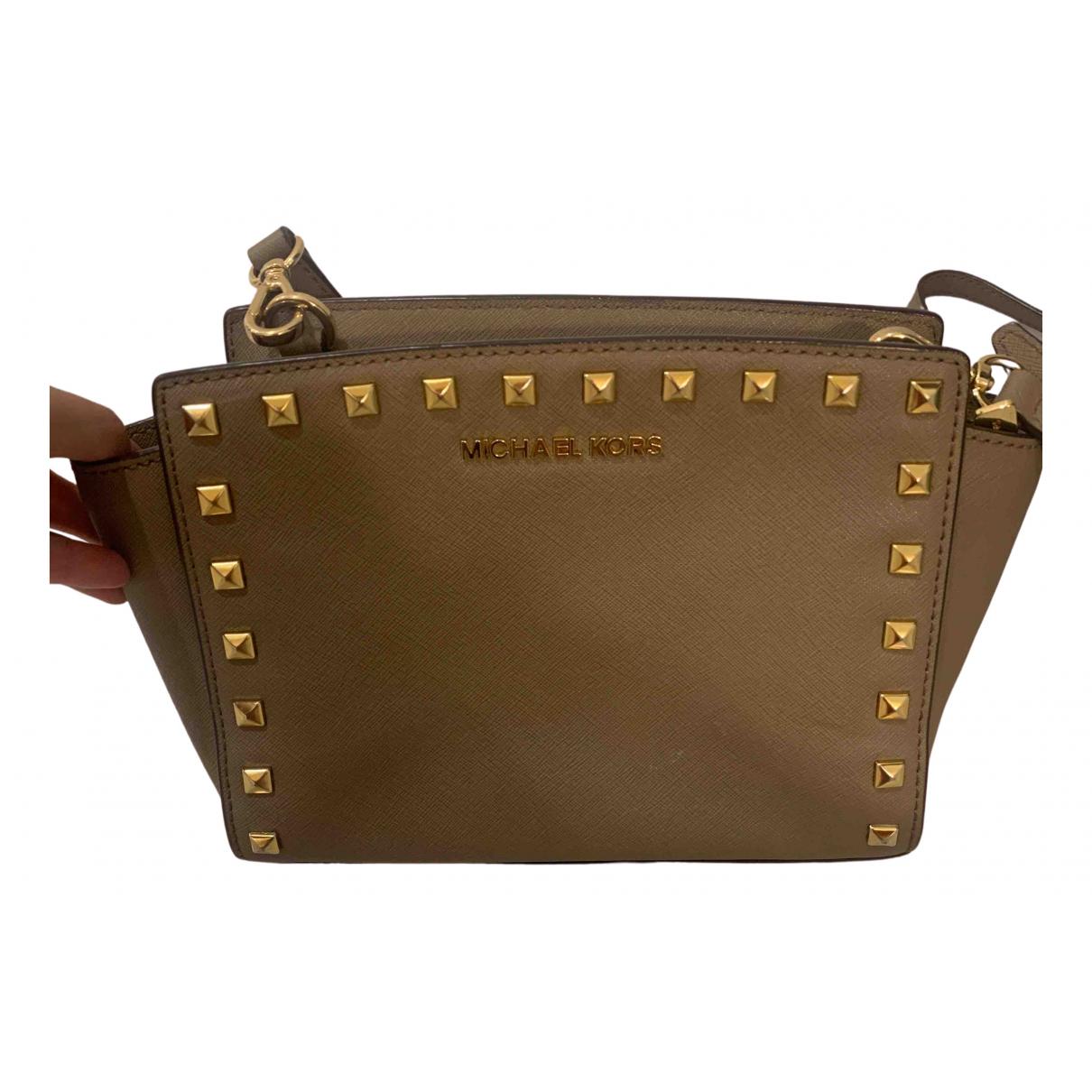 Michael Kors Selma Beige handbag for Women \N