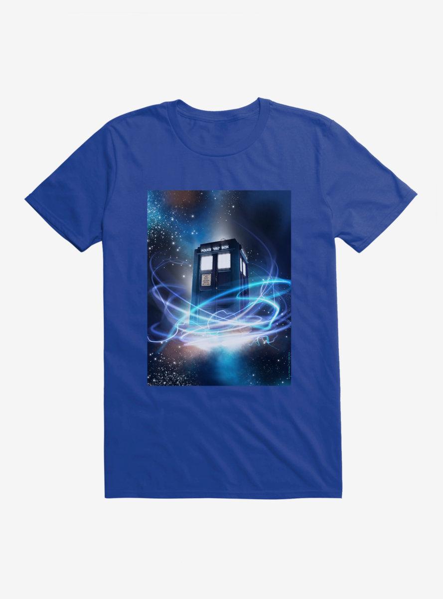 Doctor Who TARDIS Wibbly Wobbly Timey Wimey T-Shirt