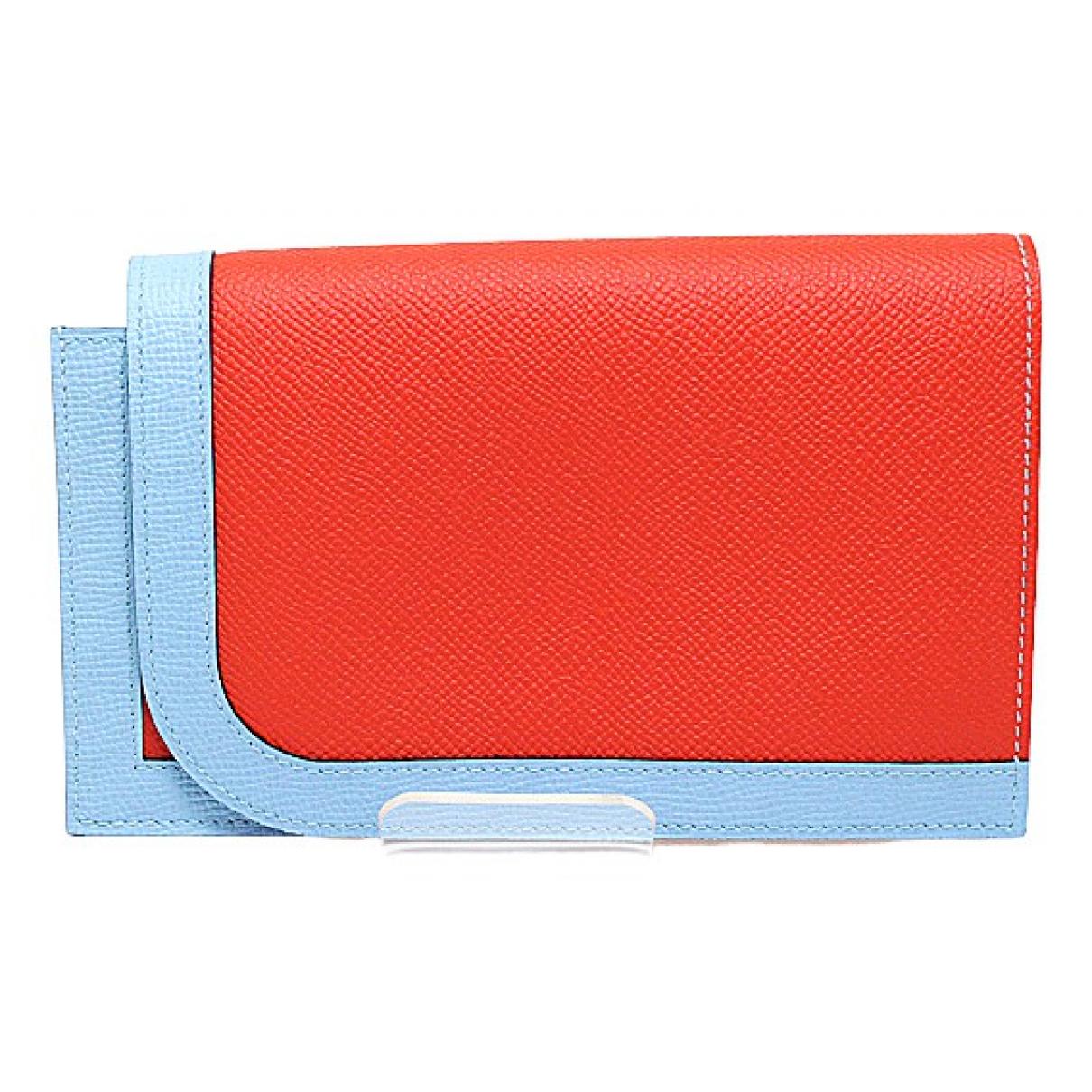 Hermès Camail Multicolour Leather wallet for Women N