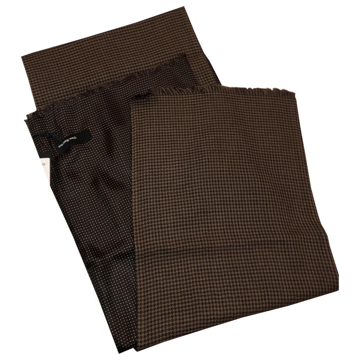 The Kooples \N Schal in  Braun Wolle