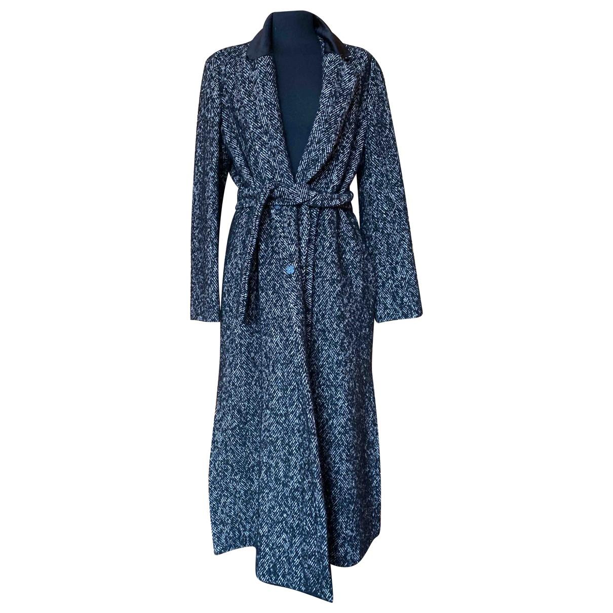 Max Mara Weekend - Manteau   pour femme en laine - multicolore