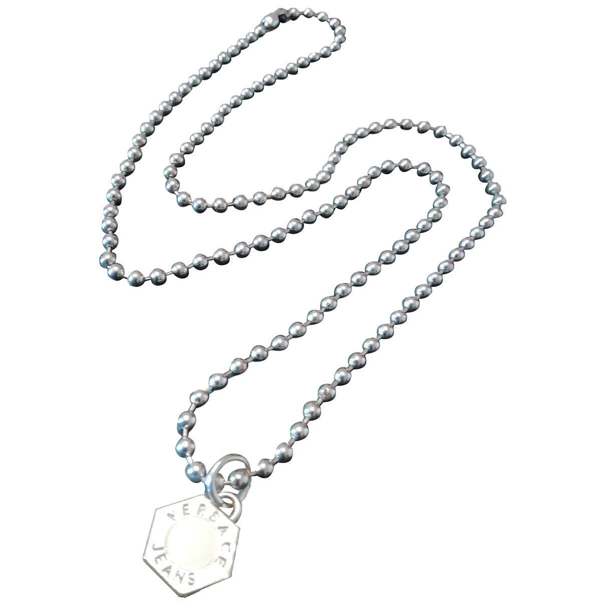 Versace \N Kette in  Silber Stahl