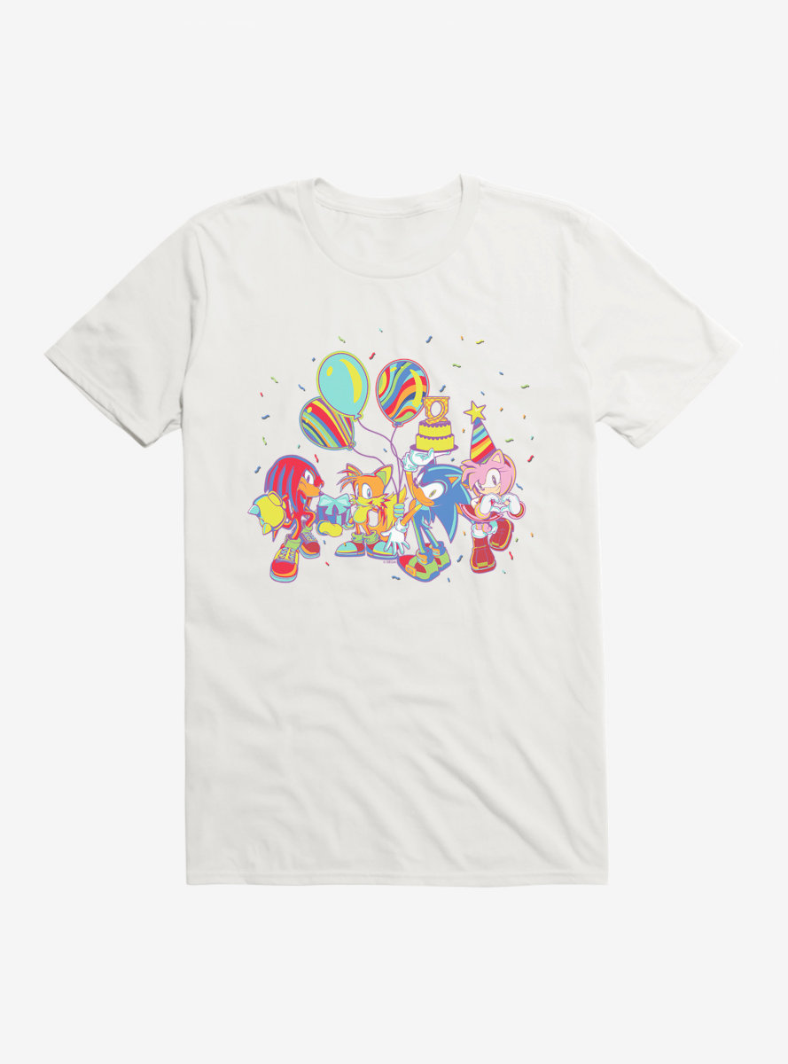 Sonic The Hedgehog Summer Squad T-Shirt