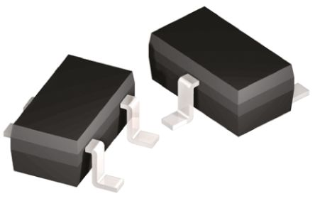 Toshiba N-Channel MOSFET, 4 A, 30 V, 3-Pin TSM  SSM3K14T(F) (10)